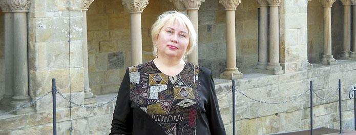 Марина Зайцева, преподаватель латинского, древнегреческого и немецкого языков. | Фото из личного архива