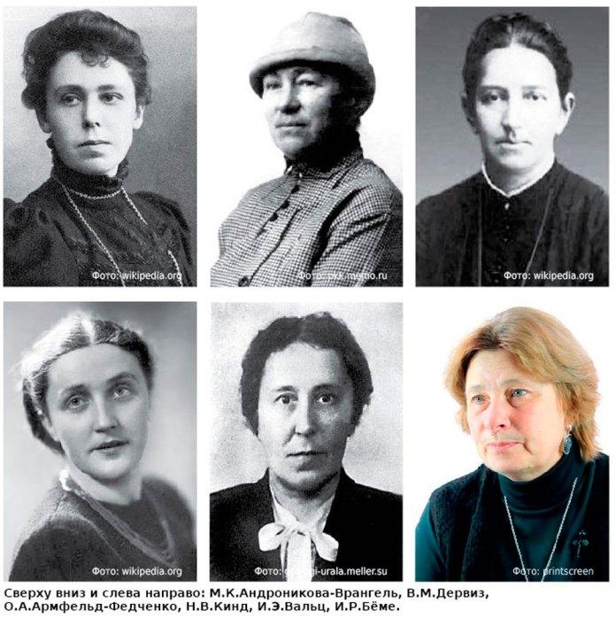 Вклад женщин в естественные науки