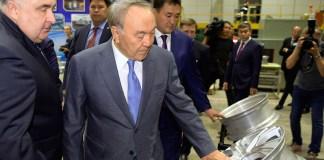 Глава государства посетил Павлодар