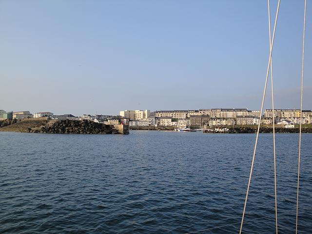 Approaching Portrush Harbour, N Ireland