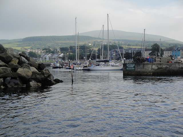 Entrance to Ballycastle Harbour