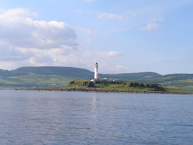 Pladda Island, south of Arran.