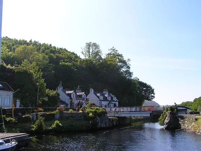 Swing Bridge, Crinan Canal.