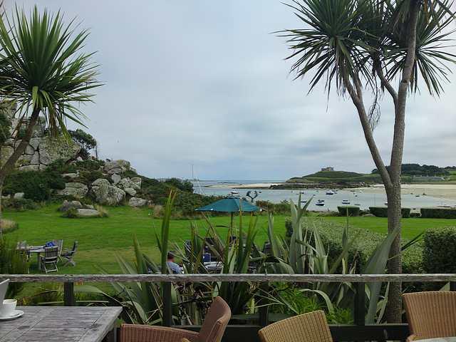 View from Island Hotel, Tresco