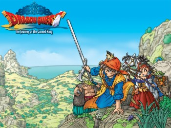 Artwork from Dragon Quest VIII