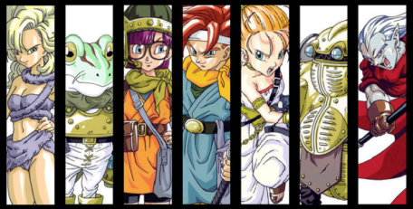 The iconic cast of Chrono Trigger