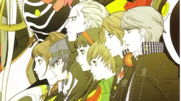 The front cover of the Persona 4 Official Design book