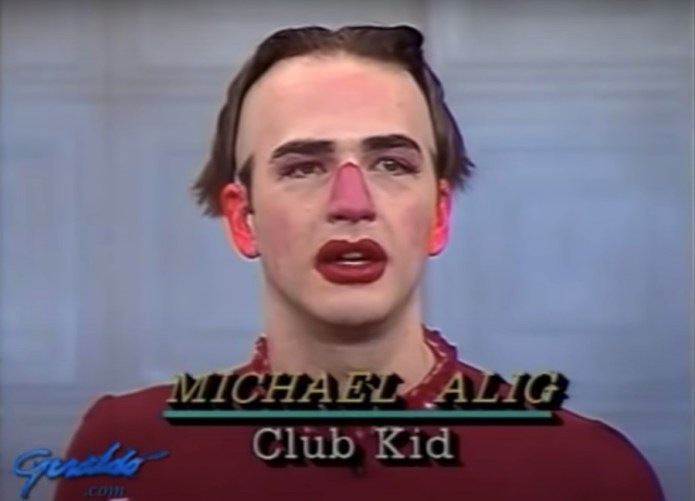 Michael Alig appearing on Geraldo, 1990