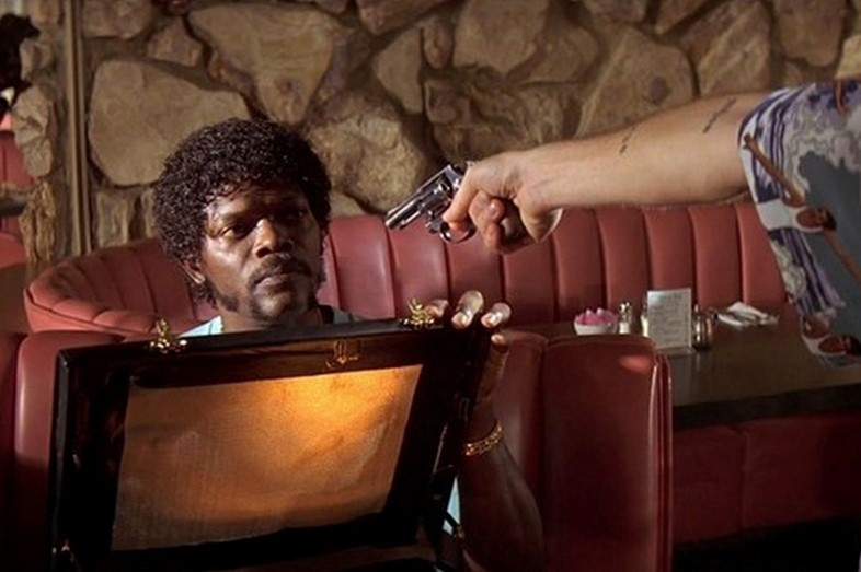 Image result for pulp fiction briefcase