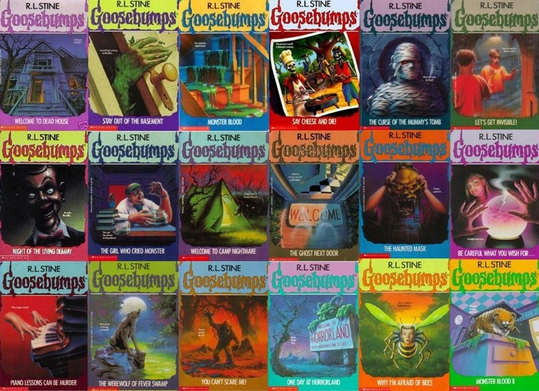 Image result for goosebumps books