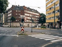 Kreuzungssituation Erkrather Straße 3