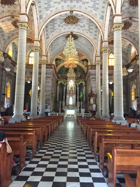 Cathedral Basilica de Mazatlán... completed in 1875