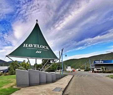 Havelock Marina Sign