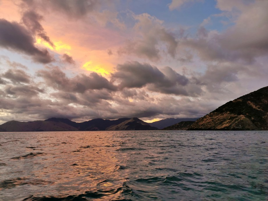 Sunrise at The Entrance To Pelorus Sound