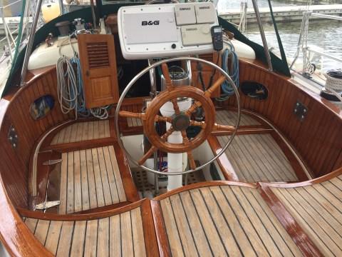 Varnished Cockpit