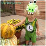 How to Make Easy Kids Halloween Tick Tock Croc Costume