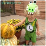 How to Use a Baby Romper For a Tick Tock Croc Costume