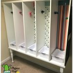 How To Make Awesome Family Mudroom Cubby Organizer