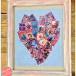 Minted-Inspired Heart Shaped Photo Print