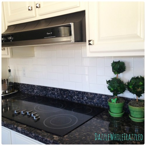 Stair Step Subway Pattern: Alternative to traditional subway tile layout
