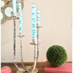 Make Custom Candles With Ribbon In 3 Steps