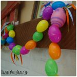 Colorful, Easy Plastic Easter Egg Garland In 3 Steps