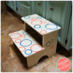 How to Easily Makeover Kids Step Stool with Paint