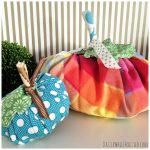 How to Make Fall Pumpkins from Fabric Scraps