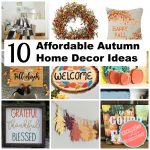 How to Decorate Your Home for Autumn with 10 Decor Ideas