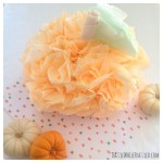 How To Make a $2 Pumpkin From Coffee Filters
