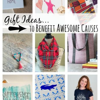 Find a gift from a shop that gives back to a charitable cause | DazzleWhileFrazzled.com