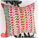 Make an Easy DIY Christmas Pillow Cover