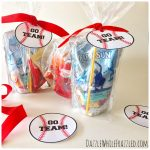 How to Make Printable Tags for Baseball Snack Bags