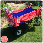How to Decorate a Wagon or Bike for 4th of July Parade