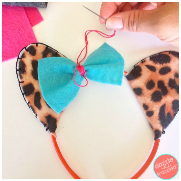 Safari animal ear headbands for kids and Halloween costumes | DazzleWhileFrazzled.com