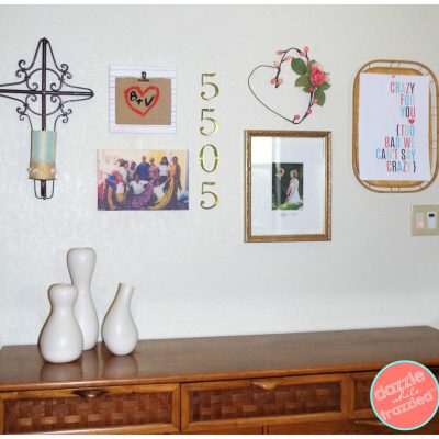 DIY layout a photo and art gallery wall in your home   DazzleWhileFrazzled.com