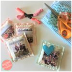 DIY Scented Photo Sachet for Personalized Gifts