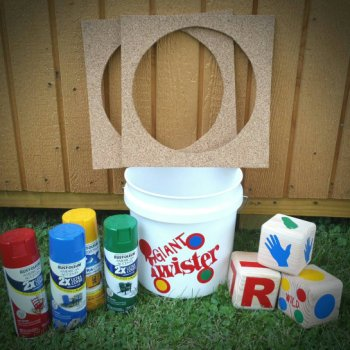 10 insanely fun games for family Giant Yard Twister Game