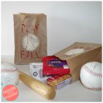 How to Make Fun Brown Paper Baseball Snack Bags