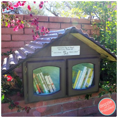 How to build a Free Little Library for your neighborhood with Gorilla Glue products and basic building supplies.