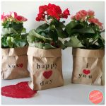How to Gift Plants in Easy, Cute Brown Paper Bags