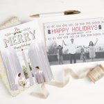How to Make Prettiest Holiday Cards in Minutes