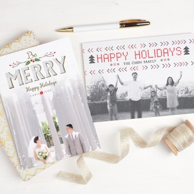 With over 500 holiday card designs, get the season's prettiest and easiest Christmas, Hanukkah and New Year's cards to send out.