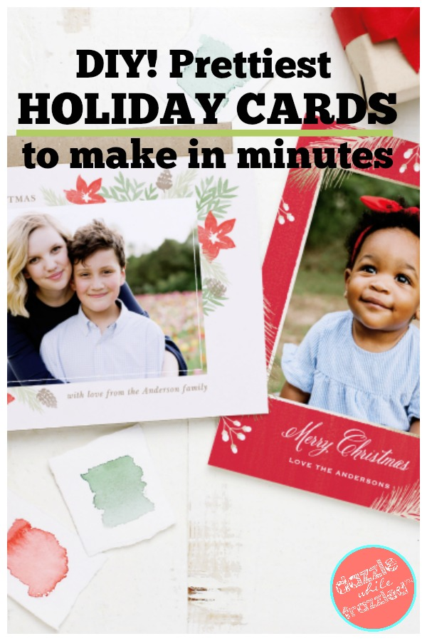 Basic Invite has over 500 holiday and Christmas cards that can be made in minutes.