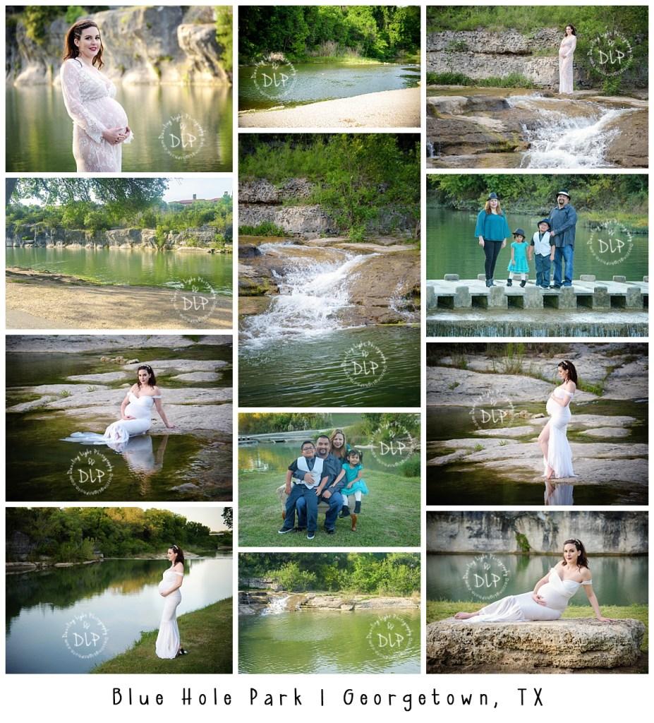Blue Hole Park Dazzling Light Photography