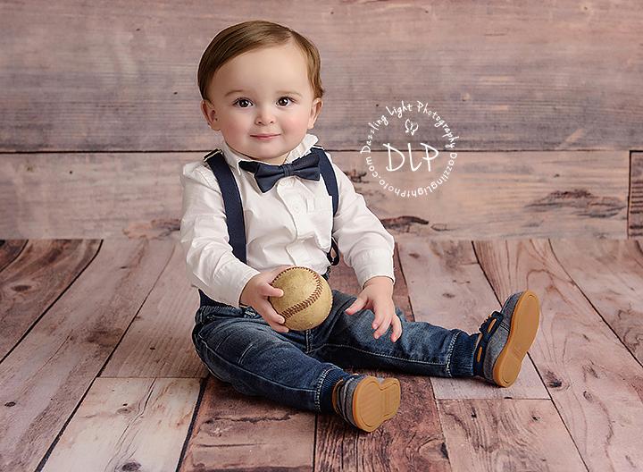 Baby Milestones Dazzling Light Photography