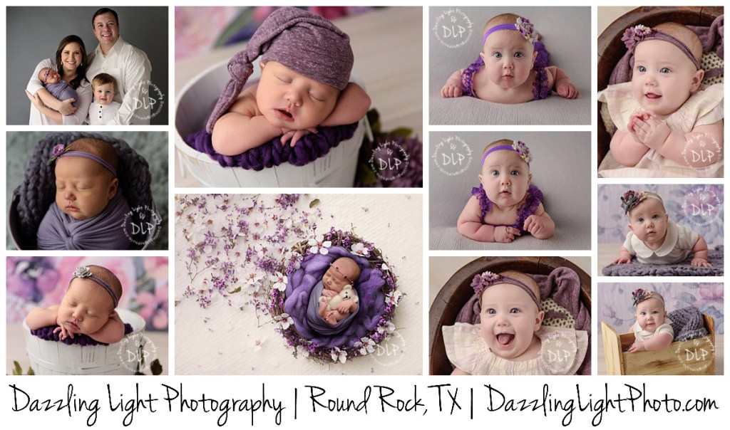 Round Rock Baby Photographer Dazzling Light Photography