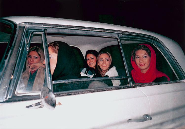 Risultati immagini per shirin aliabadi girls in a car