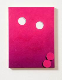 Eddie Peake, Glory Holes, 2010. Courtesy of Galleria Lorcan O'Neill Roma. Frieze London