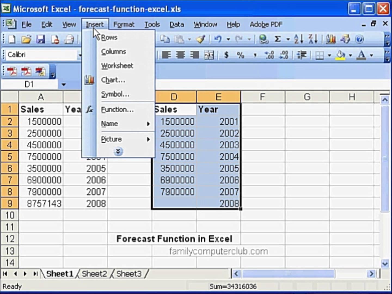 Sales Forecast Spreadsheet Template Forecast Spreadsheet